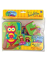 Stephen Joseph Art Mix & Match Puzzle for Girls