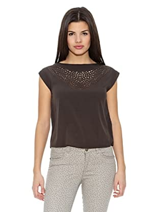 Springfield Blusa Laser Cut S/S
