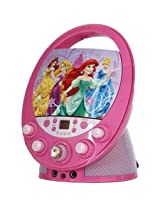 Disney Princess 66205 Wint Disney Princess Flashing Durable Colorful Beautiful Karaoke For Kids