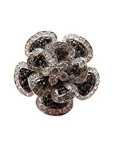 Alkafashionjewels Metal Ring For Women (Silver)