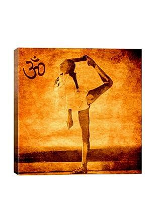 OM Dancer Pose by Fabrizio Giclée Canvas Print