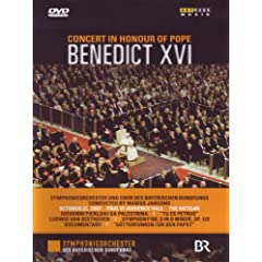 Concert in Honour of Pope Benedict Xvi: Live From [DVD] [Import]