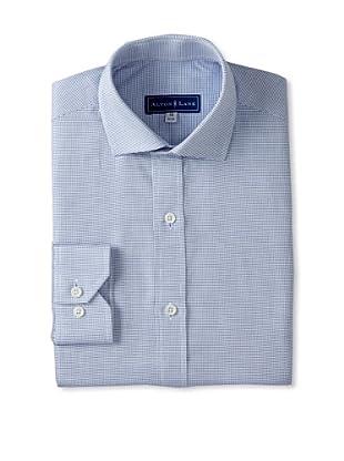 Alton Lane Men's Pincheck Dress Shirt (Navy)