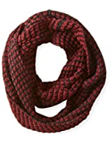 RAMPAGE Women's Chunky Waffle Knit Infinity Loop Scarf