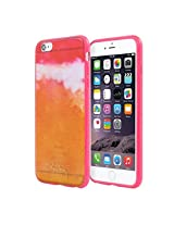 Laura Trevey Translucent Case for iPhone 6 Plus - Retail Packaging - Ombre Pink/Orange