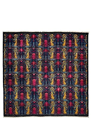 Darya Rugs Suzani Oriental Rug, Pink, 6' 1
