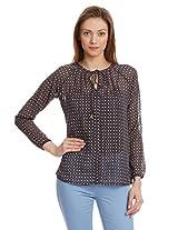 Anaphora Women's Button Down Shirt