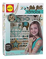 ALEX Toys Spa Fab Foil Tattoos Totally Teal
