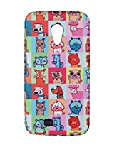 iAccy Alicia Souza Cartoon Dog's Case for Moto G2