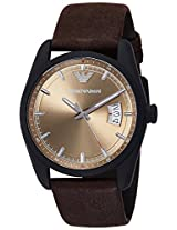 Emporio Armani Analog Beige Dial Men's Watch - AR6081