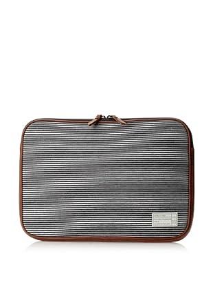 HEX Fleet 15-Inch Sleeve for MacBook Pro, Black/Grey Stripe
