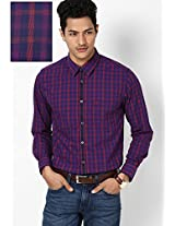 Red Casual Shirt Peter England