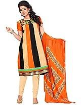 Cenizas embroidered Semi Stich Salwar Suit Duptta ( CHTRA 527)