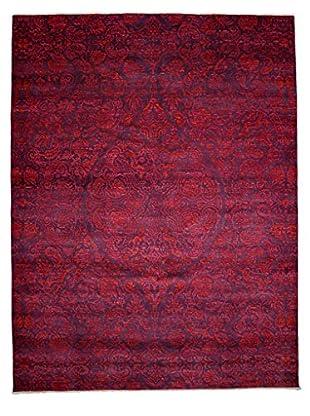 Darya Rugs Suzani Oriental Rug, Pink, 9' x 11' 9