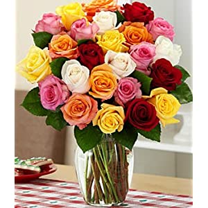 Rainbow Roses -A Perfect Gift