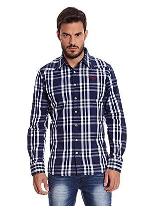 Paul Stragas Camisa Hombre Lance (Azul Marino)