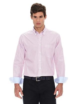 Turrau Camisa Rayas Bicolor (Rosa / Azul)