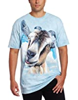 The Mountain Men's Goat Head T-Shirt, Turquoise, X-Large