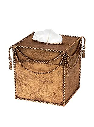 Swag and Tassel Accent Tissue Box