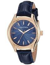 Nautica Sports Analog Blue Dial Women's Watch - NAI12002M