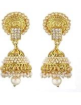 Antique Designer Earing Pearl Alloy Jhumki Earring