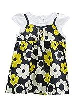 TheTickleToe Kids Girls Cotton Casual Dailywear Frock Dress 2-3 years