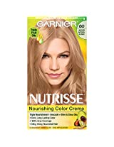 Garnier Nutrisse Haircolor, 80 Medium Natural Blonde Butternut