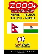 2000+ Nepali - Telugu Telugu - Nepali Vocabulary