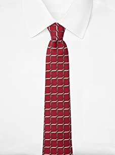 Hermès Men's Belts Tie, Burgundy, One Size