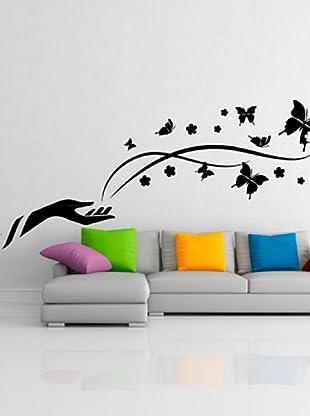 Ambiance Sticker Vinilo Adhesivo Mariposas De La Libertad