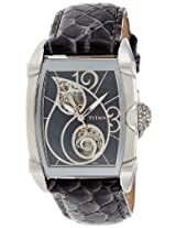 Titan Automatic Analog Black Dial Women's Watch - NC9814SL01J