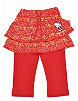 Hello Kitty Girls Legging Skirt - Red (0 - 24 Months)
