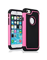 KAYSCASE Heavy Duty Cover Case TurtleBox for Apple iPhone 6 - Pink