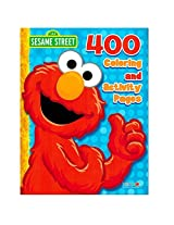 Sesame Street Elmo Coloring Book Jumbo 400 Pages Featuring Elmo, Cookie Monster, Big Bird And More!