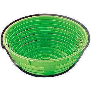 サーモ 醗酵カゴ丸型 (ポリプロピレン) 48709 グリーン