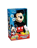 Amazing Disney Mickey Mouse Sing And Giggle Figure By Fisher Price