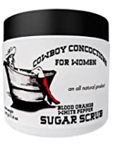 100% Natural Blood Orange & White Pepper Cane Sugar Body Scrub -- now with Shea Butter!