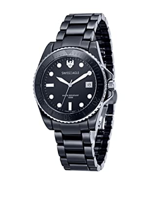 Swiss Eagle Reloj Dive Negro