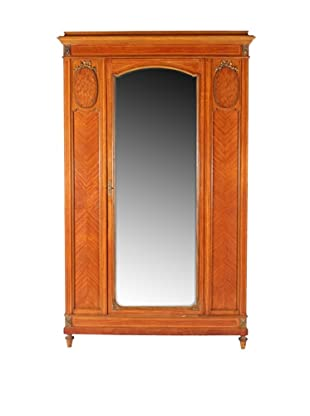 Regency-Style Armoire, Brown
