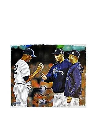 Steiner Sports Memorabilia Mariano Rivera, Derek Jeter, & Andy Pettitte Triple-Signed Canvas, 20