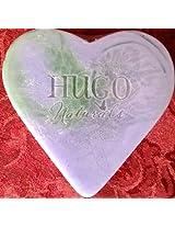 100% Natural Lavender Heart Handcrafted Soap 4oz