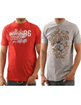 Funktees 100% Cotton Round Neck L Size T-shirts For Men - Pack of 2