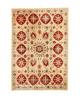 Design Community By Loomier Teppich Oz Ziegler Far Extra beige/rot 240 x 168 cm