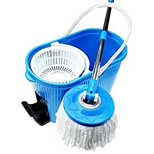 Celebrations Floor Cleaning Spin Mop With Bucket