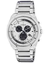 Citizen Eco-Drive Analog White Dial Men's Watch AT2150-51A