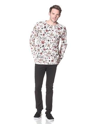 Zanerobe Men's Biscus Sweatshirt (Floral)
