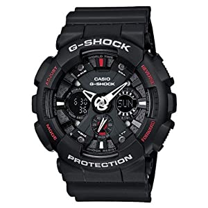 Casio G-Shock (Extra Large Combination) GA-120-1A (G346) Watch - For Men