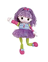 "Adora Mixxie Mopsie Jazzy Sparkles - 16"" Soft 14 piece Interchangeable Play Set Doll for Kids Aged 4 years & up"