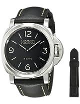 Panerai Men's PAM00560 Luminor Stainless Steel Mechanical Hand-Wind Watch with Interchangeable Bands