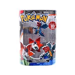 Pokemon Series 1 Volcarona vs Druddigon Action Figure 2-Pack